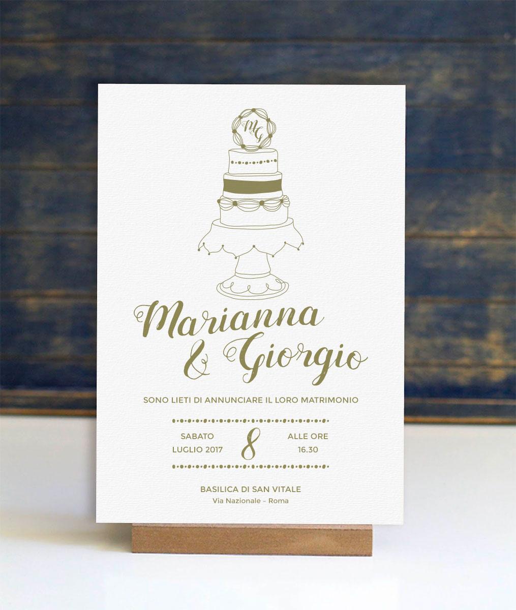 scriptaimago Biglietti e inviti - partecipazioni di nozze