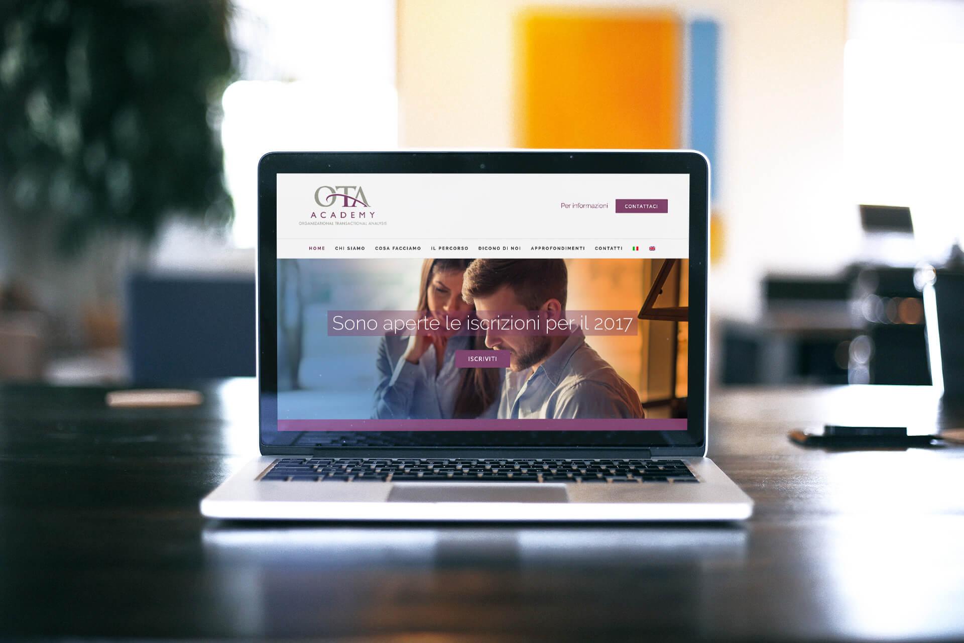 Ota Academy website